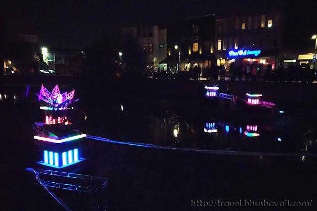 Floral Flow Dommel River Glow Eindhoven