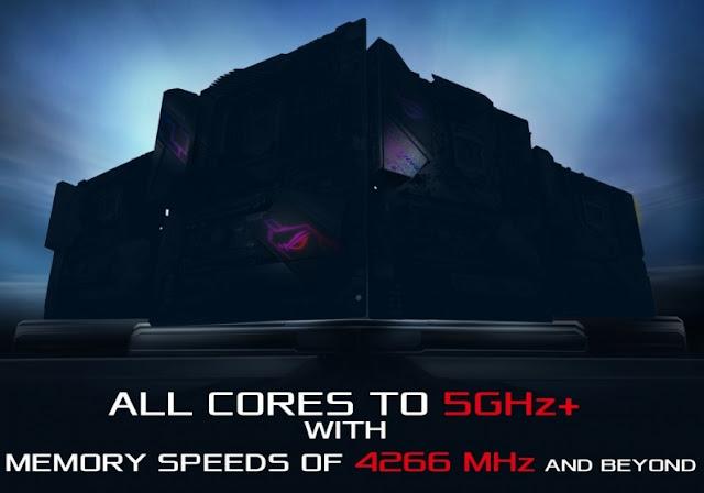 ASUS introduce su nueva generación de placas diseñadas para CPU de 5GHZ I9