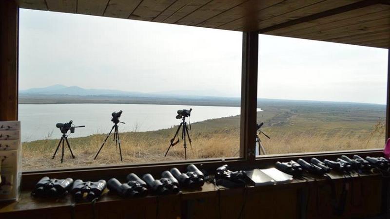 Εγκαίνια παρατηρητηρίου πουλιών στη Λίμνη Ισμαρίδα