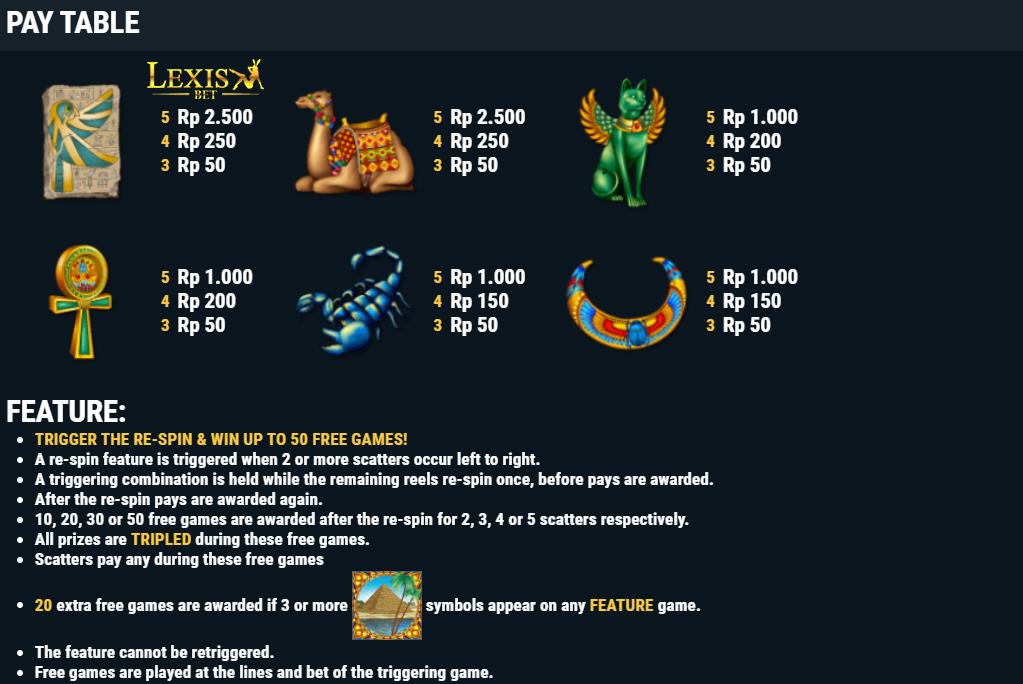 slot online gacor Egyptian Dreams