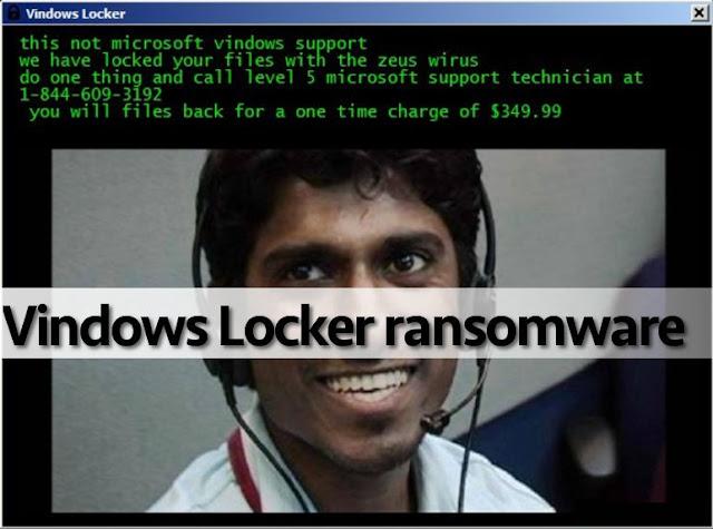 Novo ransomware está atacando os sistemas Windows