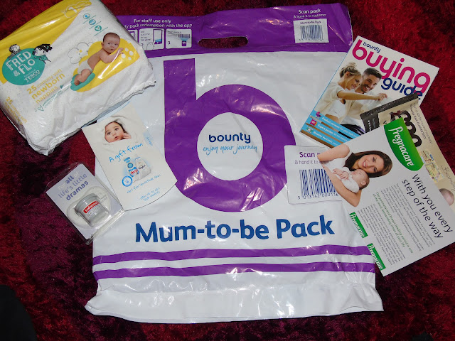 Mum-to-be Bounty Pack from Tesco with freebies