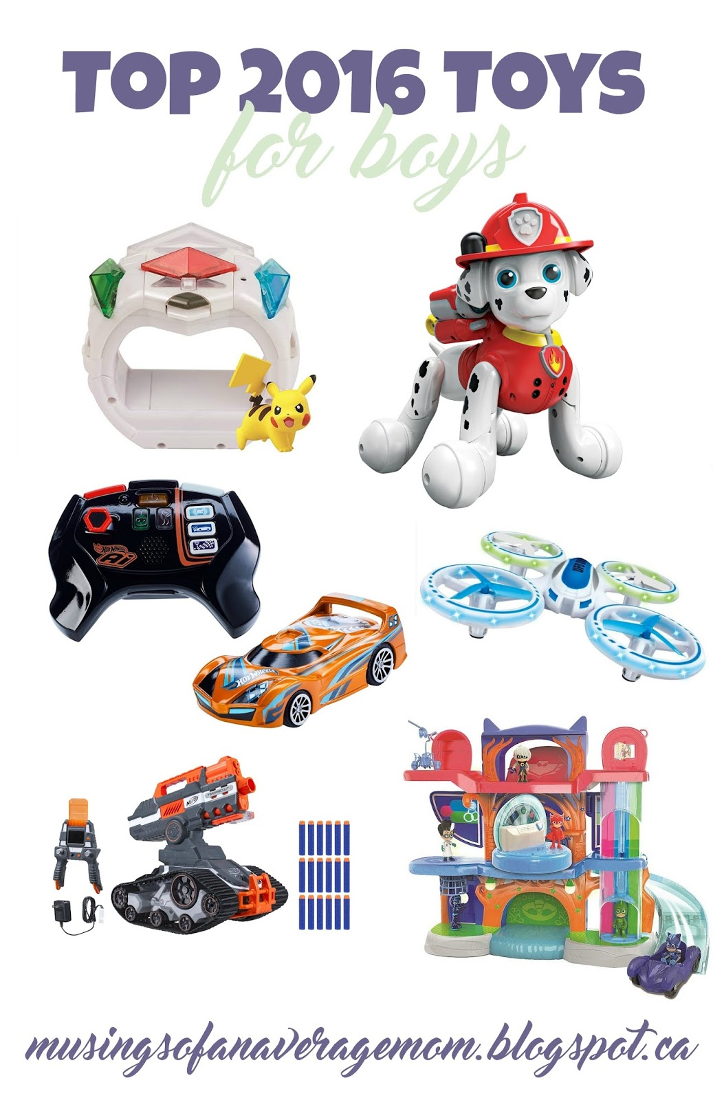 Top Toys For Boys : Musings of an average mom top toy list boys
