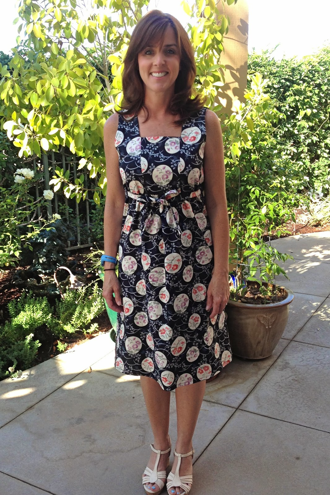 Gatorbunny Sews Japanese Summer Sun Dress