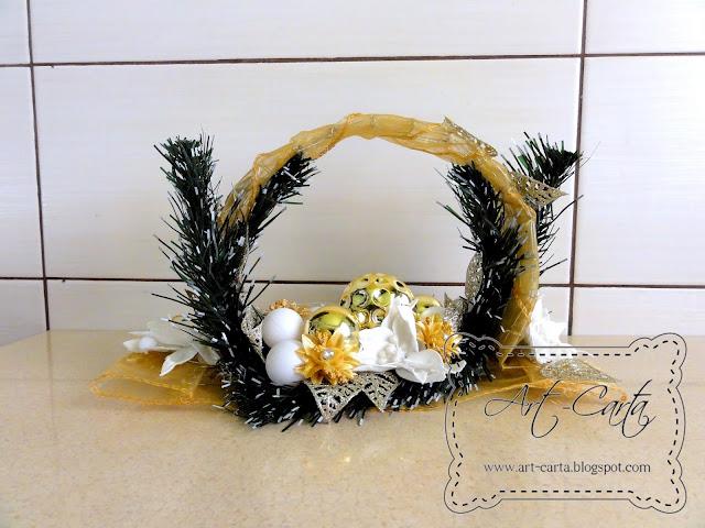Świąteczna ozdoba na stół