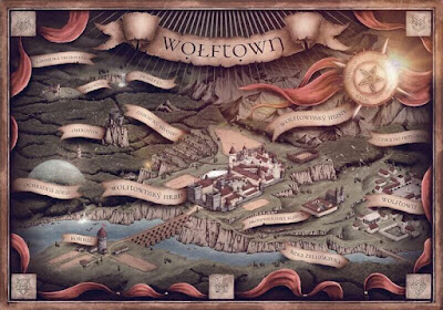Mapa světa Kvadrigy – Wolftown
