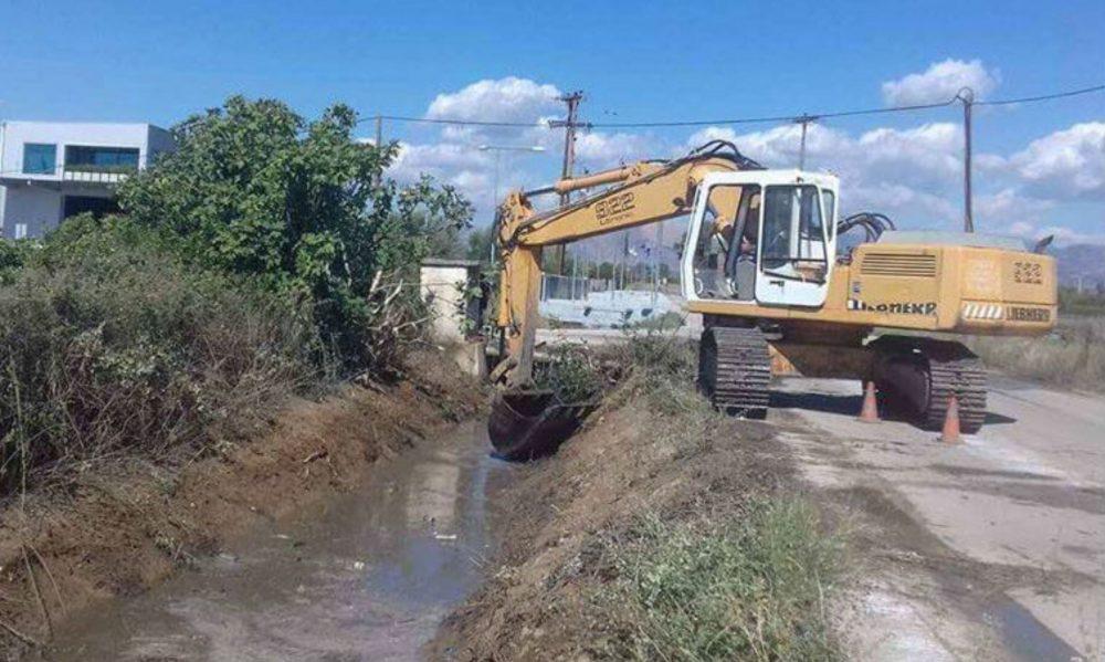 Σε αντιπλημμυρικά έργα στη Μαγουλίτσα του Δήμου Μουζακίου προχωρά η Περιφέρεια Θεσσαλίας