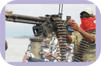 Militants confront Nigerian Army