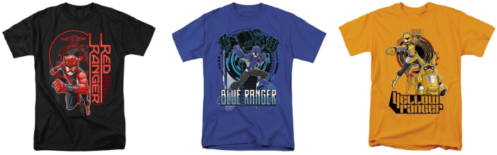 Nickalive Tee Shirt Palace Launches Power Rangers Beast Morphers