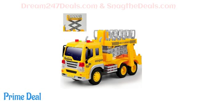 45% off Toy Truck Friction Power with Lights and Sounds