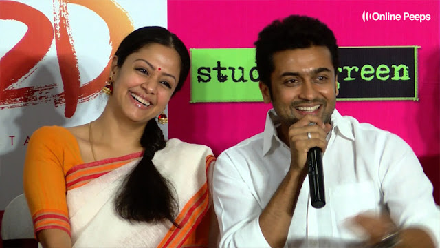 Actor Surya and Jyothika Reunites for a New Movie After a While