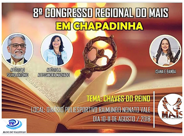 CONTAGEM REGRESSIVA!! MAIS realiza a VIII Edição do Congresso Regional em Chapadinha