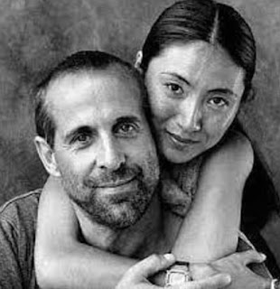 Toshimi Stormare with her husband Peter Stormare