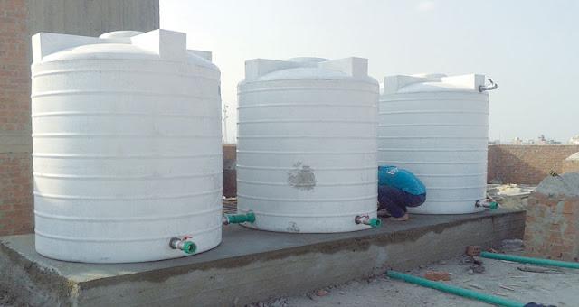 طريقة تنظيف خزانات المياه المنزلية