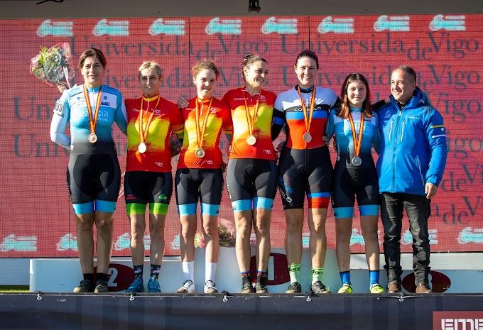 Galicia sobresale en la primera jornada del Campeonato de  España de Ciclocross