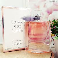 Wishlist parfums Notino La vie est belle Lancôme