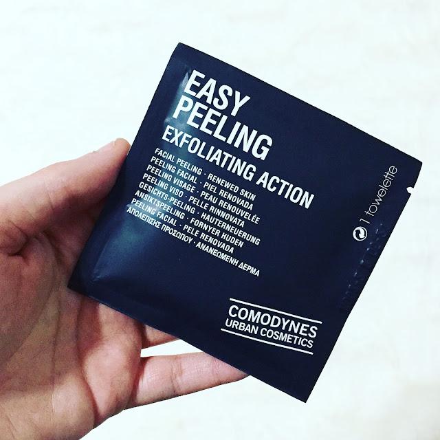 Easy peeling exfolation action de comodynes