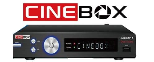 CINEBOX LEGEND X NOVA ATUALIZAÇÀO - 03/05/2021