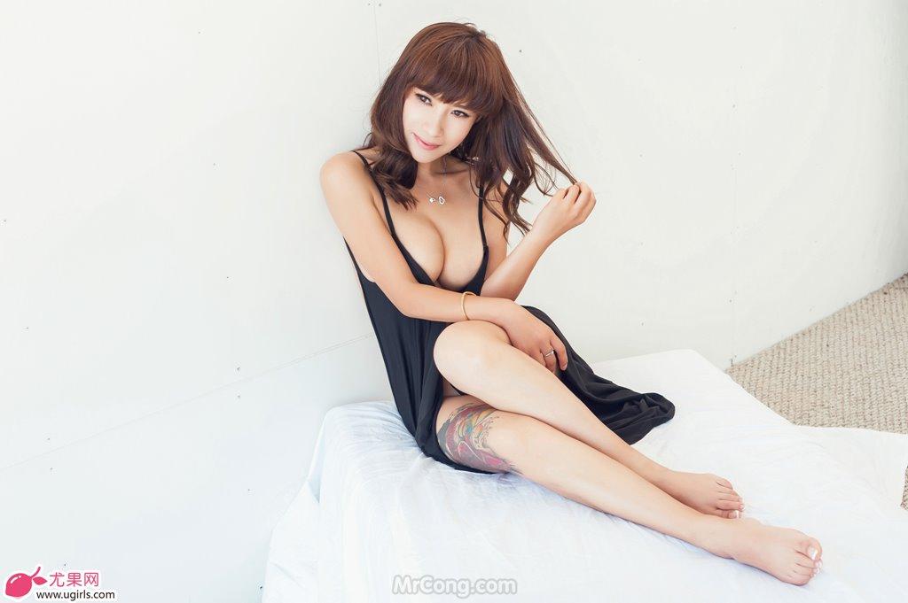 Image MrCong.com-UGIRLS-020-Tian-Yi-Yi-002 in post Người đẹp Tian Yi Yi (田依依) khoe ngực trần sexy trong bộ ảnh UGIRLS 020
