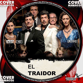 GALLETA EL TRAIDOR-IL TRADITORE 2019[COVER DVD]