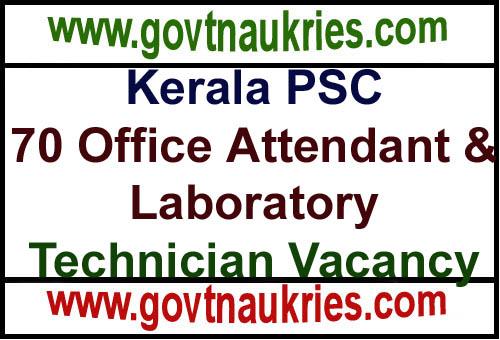 Govt Job for Kerala