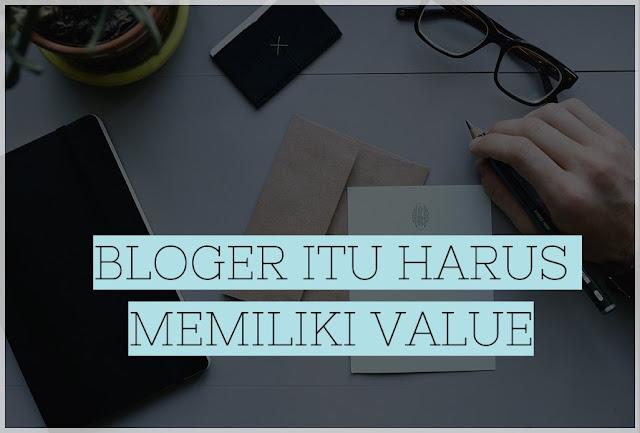 memiliki value pada blogger