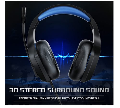BEAVIIOO HH01 PS5 Gaming Headset with Microphone