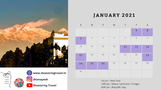 Long Weekend Holiday in January