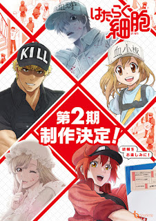 Hataraku Saibou 2nd Season