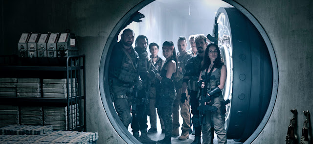 Dave Bautista Omari Hardwick Tig Notaro Samantha Win Matthias Schweighöfer Raúl Castillo Ana de la Reguera | Zack Snyder's Army of the Dead | Netflix