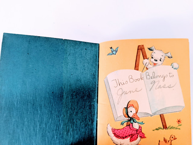 picture of vintage animal book artwork on white background