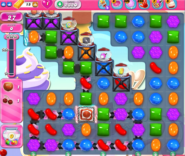 Candy Crush Saga level 2320