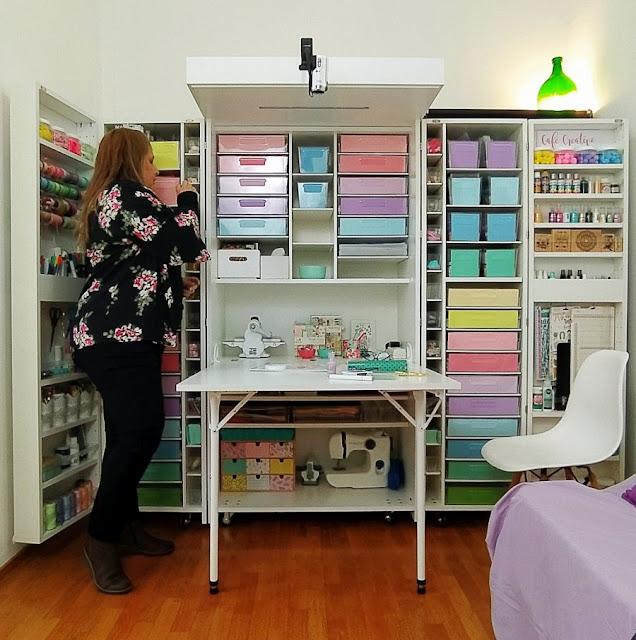 Organizzazione della Craft Room con la DreamBox