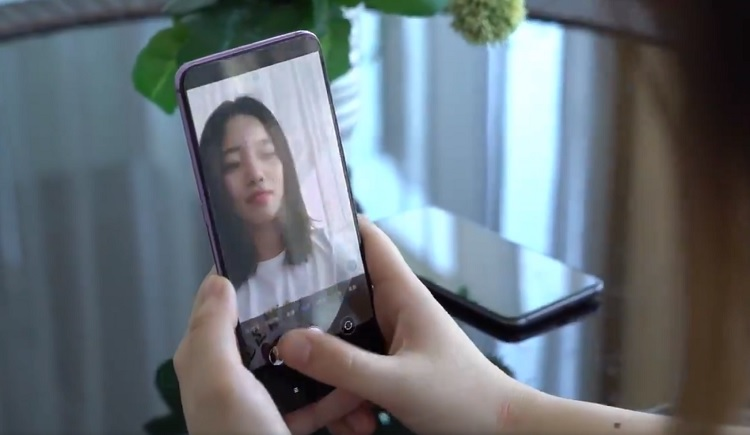 Prototype Phone with Under-display Camera Technology