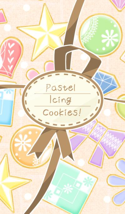 Pastel Icing Cookies !