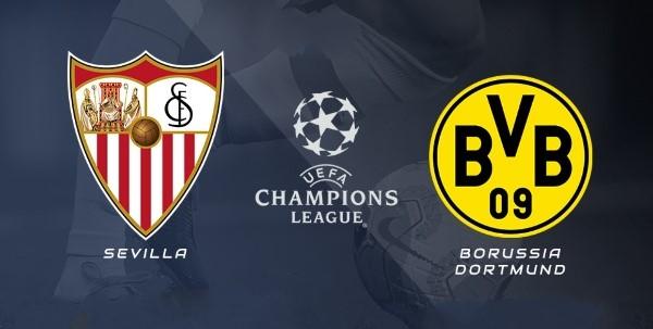 مشاهدة مباراة بوروسيا دورتموند ضد اشبيلية 17-2-2021 بث مباشر في دوري أبطال أوروبا
