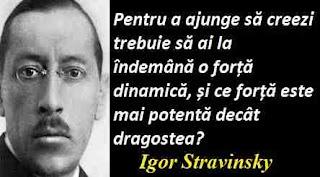 Maxima zilei: 17 iunie - Igor Stravinsky