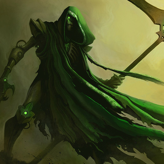 Cloaked Necron Wallpaper Engine