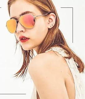 AWGSEE aviator sunglasses for women