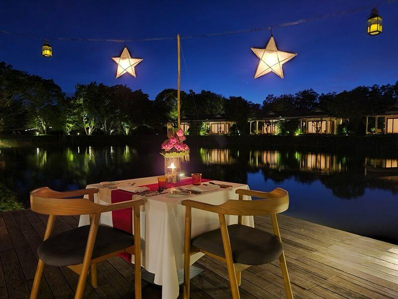 Dining Under the Stars at Azerai Can Tho