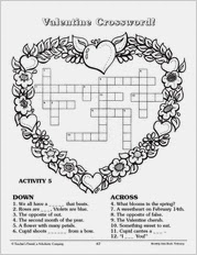 Valentines Crossword 4