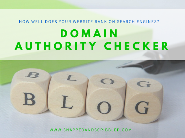 Blog Domain Authority Checker