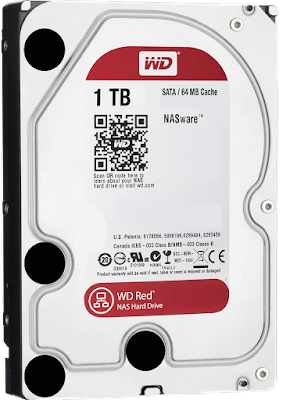 WD Hard Driver red Color Code