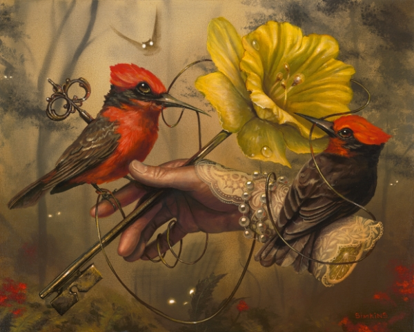 18-In-High-Places-Greg-Craola-Simkins-Fantastical-Surreal-Paintings-Full-of-Details