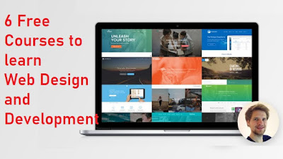 Top 5 Free Courses to become Web Designer in 2020 - Best of Lot