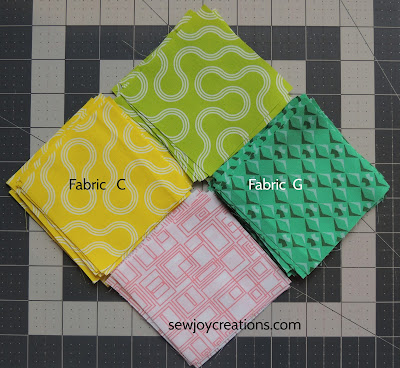 Fabrics Dropping In quilt