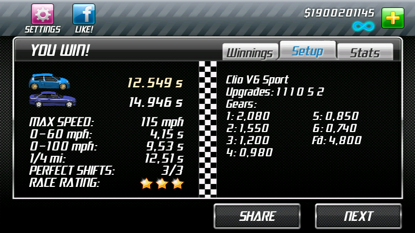 drag racing android best car to beat level 5 boss