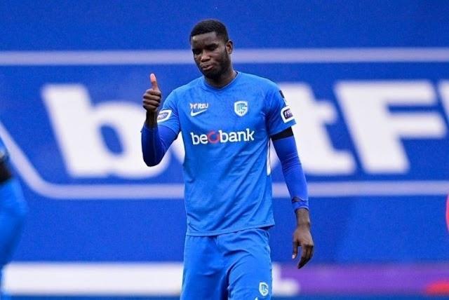 Genk Reject Lazio €25m Offer For Onuachu