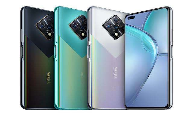 ألوان هاتف أنفينكس زيرو 8 Infinix Zéro 8: