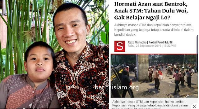 Ustadz Felix Siauw Bangga Dengan Anak STM Yang Demo